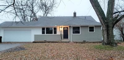 Hilliard Single Family Home Contingent Finance And Inspect: 4777 Cemetery Road