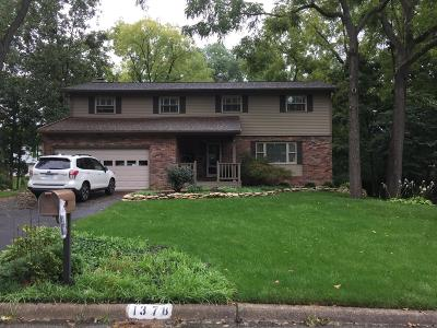 Columbus Single Family Home For Sale: 1378 Oakbourne Drive
