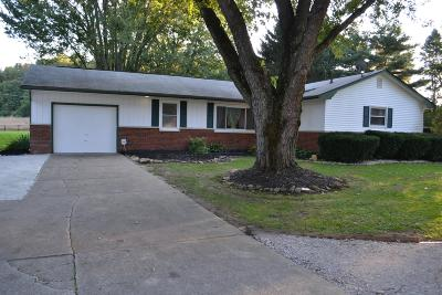 Carroll Single Family Home Contingent Finance And Inspect: 7175 Winchester Road