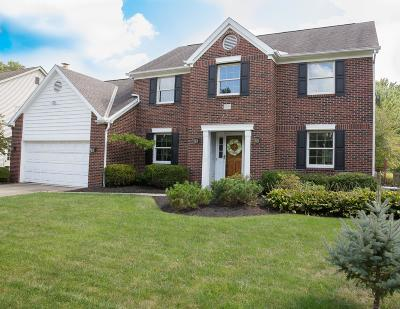 Dublin Single Family Home Contingent Finance And Inspect: 5607 Sells Mill Drive