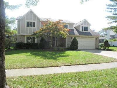 Dublin Single Family Home Contingent Finance And Inspect: 5613 Parker Hill Lane