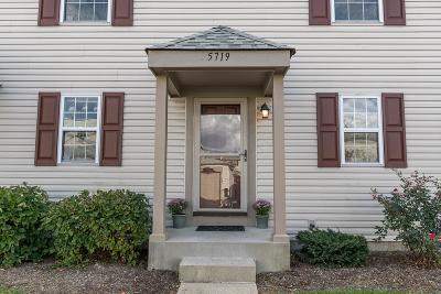 Hilliard Condo Contingent Finance And Inspect: 5719 Rutgers Lane #181C