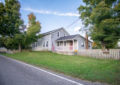 Fredericktown Single Family Home Contingent Finance And Inspect: 19798 Waterford Road