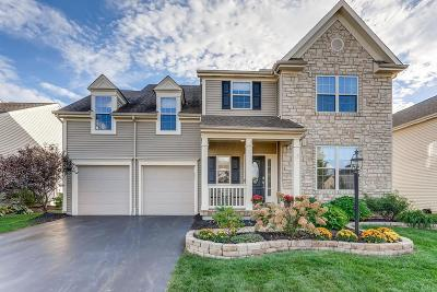 Blacklick Single Family Home Contingent Finance And Inspect: 7661 Dover Ridge Drive