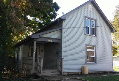 Mount Vernon OH Single Family Home Contingent Finance And Inspect: $72,000