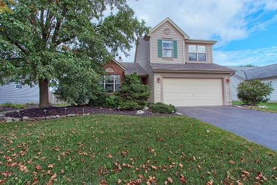 Hilliard Single Family Home Contingent Finance And Inspect: 6384 Pinefield Drive
