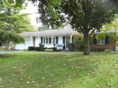 Hilliard Single Family Home For Sale: 3805 Ridgewood Drive