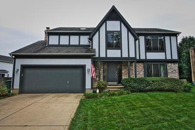Westerville Single Family Home For Sale: 8092 Breezewood Court