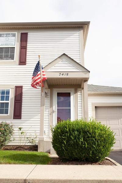Blacklick Condo Contingent Finance And Inspect: 7415 Macgeorge Place #93F