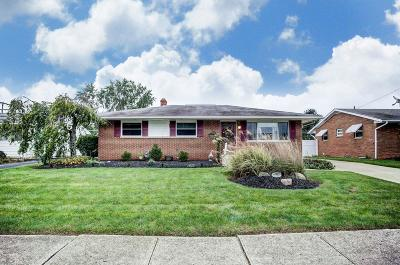 Grove City Single Family Home Contingent Finance And Inspect: 2587 Glendale Road