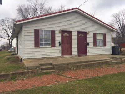 Circleville Multi Family Home For Sale: 729 S Court Street