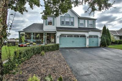 Grove City Single Family Home Contingent Finance And Inspect: 1280 Great Hunter Drive