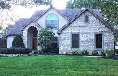 Westerville Single Family Home For Sale: 6424 Meadow Glen Drive N