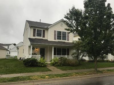 Lewis Center Single Family Home Sold: 8757 Olenmead Drive