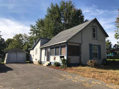 Union County Single Family Home For Sale: 627 W 3rd Street