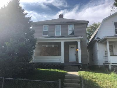 Columbus OH Single Family Home For Sale: $37,000