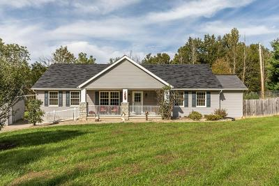 Thornville Single Family Home Contingent Finance And Inspect: 12961 Laurel Hill Road