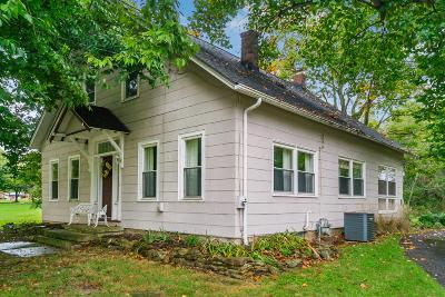 Sunbury Single Family Home Contingent Finance And Inspect: 1211 S Old 3c Highway