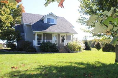 Centerburg Single Family Home For Sale: 2518 Wall Street