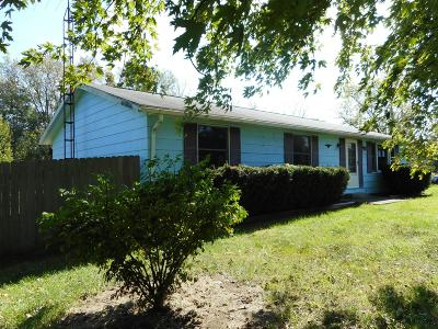 Single Family Home For Sale: 9540 Ashley Road
