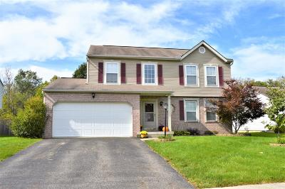 Pickerington Single Family Home Contingent Finance And Inspect: 115 Rolling Meadow Court