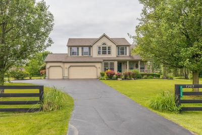 Blacklick Single Family Home Contingent Finance And Inspect: 7365 Clark State Road