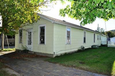 Sugar Grove Single Family Home For Sale: 101 N Main Street