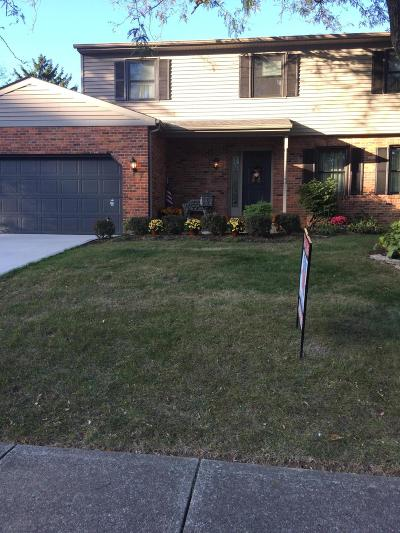 Columbus Single Family Home For Sale: 1266 Denbigh Drive
