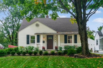 Franklin County, Delaware County, Fairfield County, Hocking County, Licking County, Madison County, Morrow County, Perry County, Pickaway County, Union County Single Family Home Contingent Finance And Inspect: 471 Blenheim Road
