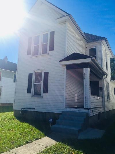 Columbus Single Family Home For Sale: 315 Burt Street