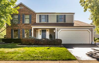 Hilliard Single Family Home For Sale: 2922 Bohlen Drive