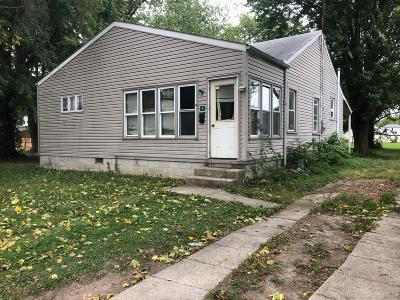 Richwood OH Single Family Home Contingent Finance And Inspect: $52,000
