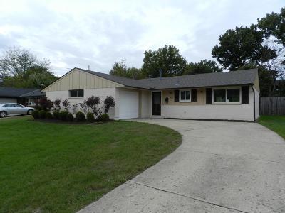 Westerville Single Family Home For Sale: 3538 Paris Boulevard