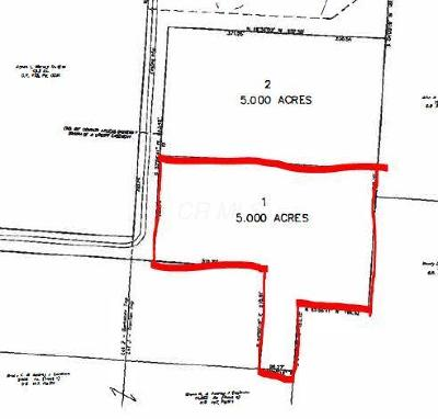 Sunbury Residential Lots & Land Contingent Finance And Inspect: 2564 State Route 61 N