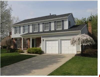 Gahanna Single Family Home Contingent Finance And Inspect: 158 Windrow Court