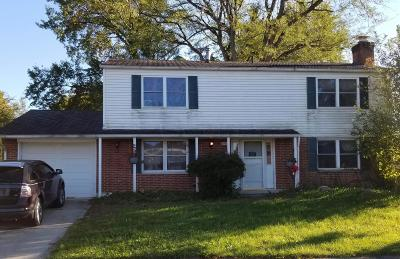 Westerville Single Family Home Contingent Finance And Inspect: 3535 Stockholm Road