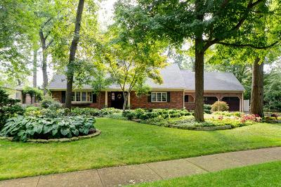 Upper Arlington Single Family Home Contingent Finance And Inspect: 2131 Sheringham Road