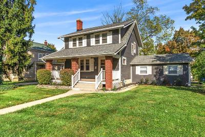 Clintonville Single Family Home Contingent Finance And Inspect: 552 E Dunedin Road