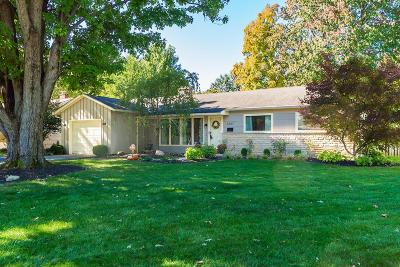 Upper Arlington Single Family Home For Sale: 3387 Leighton Road