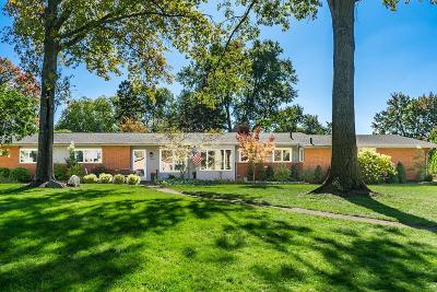 Upper Arlington Single Family Home Contingent Finance And Inspect: 3844 Woodbridge Road