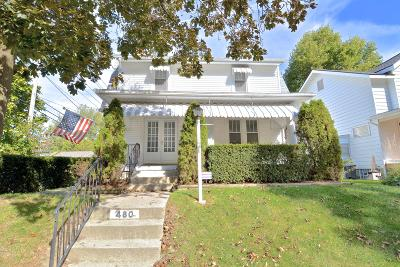 Columbus Single Family Home For Sale: 480 Melrose Avenue
