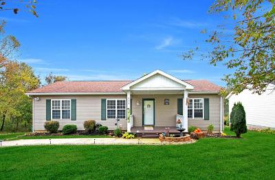 Howard Single Family Home Contingent Finance And Inspect: 822 Winesap Circle