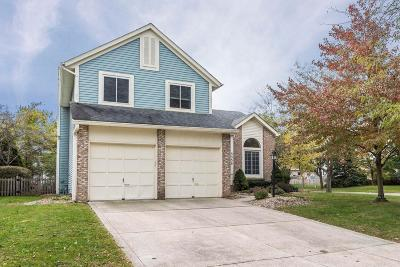 Hilliard Single Family Home Contingent Finance And Inspect: 5339 Carina Court