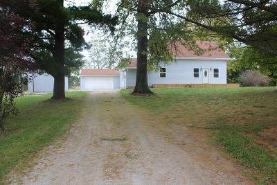 Cardington Single Family Home Contingent Finance And Inspect: 4871 Co Rd 23