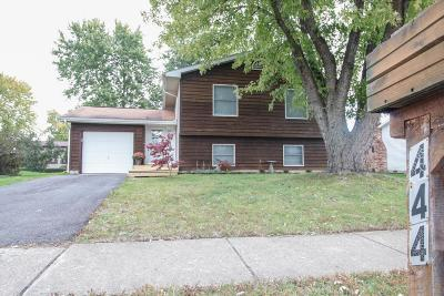 Pickerington Single Family Home Contingent Finance And Inspect: 444 Brandy Hill Avenue