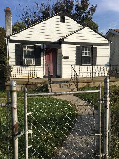Columbus OH Single Family Home For Sale: $45,000