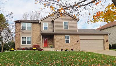 Pickerington Single Family Home Contingent Finance And Inspect: 7576 Creekbend Drive