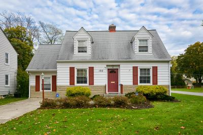 Single Family Home For Sale: 192 Wetmore Road