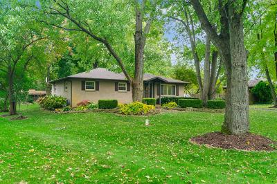 Hilliard Single Family Home Contingent Finance And Inspect: 4336 Schirtzinger Road