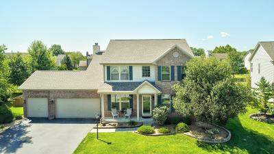 Westerville Single Family Home For Sale: 7614 Eagle Trace Drive